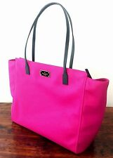 NWT KATE SPADE Sweetheart Pink Taden Blake Avenue Large Nylon Tote $228 45% OFF!