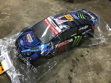 HPI Ken RC RALLY BLOCK AUTO SHELL wr8 WRC RARE LIMITED STOCK 1/8 FORD