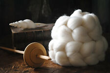 FALKLAND Undyed Combed Top Natural Wool Roving Spinning Felting fiber - 4 oz