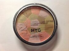 NYC New York Color COLOR WHEEL Mosaic Face Powder - SPRING PETAL 001 New! Sealed
