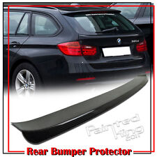 Carbon Fiber BMW F31 3-Series Touring Sport Wagon Rear Bumper Protector Trim