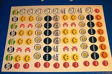 SPOT LIGHTS 1/10th RC CARS DECALS STICKERS PRECUT VINTAGE  WILL FIT OTHER MODELS