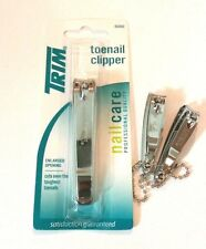 2 Trim Nail Clippers & 1 Toe Nail clipper Profressional