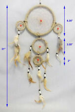 Hand Made  Dream Catchers Wall Hanging Decorations  3 Tier  6Pc Lot  ( ENPDC83T#