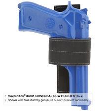 Maxpedition Universal CCW Hook Loop Holster EDC 3501B - Black - NEW
