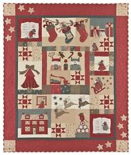 The Night Before Christmas Quilt Pattern by Bunny Hill Designs