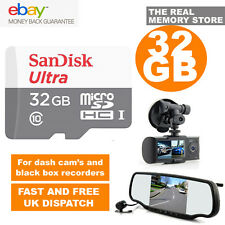 SanDisk Ultra 32GB TF Micro SD SDHC Class10 Memory Card for Dash Cam in Car Cam