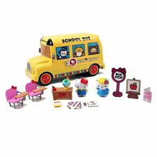 Hello Kitty School Bus Playset,Transforms to classroom environment, (96981)