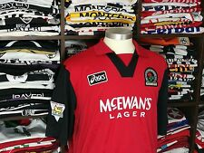 BLACKBURN ROVERS away 1995/96 shirt - SHEARER #9 - Newcastle-Southampton-Jersey