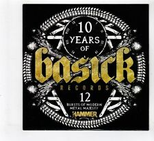 (GL80) Various Artists, 10 Years Of Basick Records - Metal Hammer Magazine CD