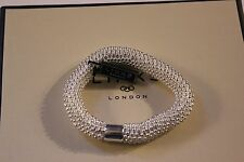 GENUINE LINKS OF LONDON STERLING SILVER EFFERVESCENCE STAR XS BRACELET - BNIB