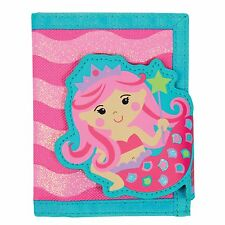 Stephen Joseph Mermaid Wallet for Girls - Money Holder for Kids