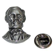 Abraham Lincoln American President Lapel Pin Badge In British Pewter Gifts For H