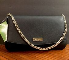 Kate Spade NY Laurel Way GREER Crossbody Bag Clutch, Black NWT $229