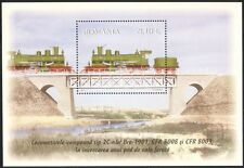 Romania 2011 Trains/Steam Engines/Transport/Rail/Railways/Bridges m/s set s1912d