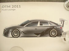 POSTER AUDI DTM embossed official poster and tube