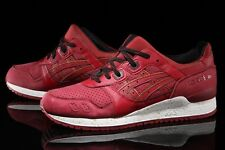 ASICS Gel Lyte III 3 Red Gold Rush Pack Suede Size 9.5 Mens Shoes (H630L-2626)