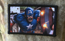 Captain America Shield Morale Patch Marvel Tactical Milspec Seals