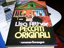 LIBRO PECCATI ORIGINALI LISA ALTHER SONZOGNO I EDIZIONE 1989