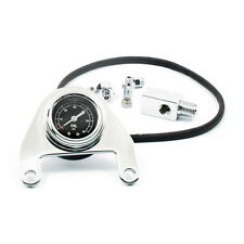 Chrome Oil Pressure Gauge Harley-Davidson Twin Cam 1999-2015