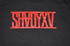 Eminem SHADYXV t shirt Shady Records Slim Marshall Mathers SHADY XV