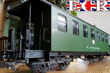 WHOLESALE TRADE MULTI-BUY G SCALE RAILWAY PASSENGER GREEN CARRIAGES COACH TRAIN