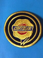 Chrysler patch sew/iron On Mechanic/parts/motor/classic/vintage/rally/car