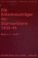 Veit Scherzer: Die RITTERKREUZTRÄGER der STURMARTILLERIE (1) 1939-1945 - NEU*