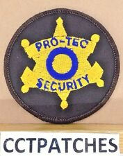 PRO-TEC SECURITY (POLICE) SHOULDER PATCH