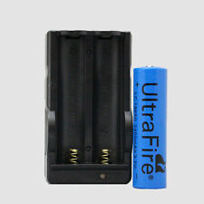 Digital Battery Charger and one(1) 3.7 volt UltraFire® rechargable battery.