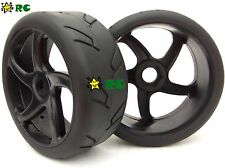 2pcs 1/8 RC On road Tires & Wheels for Redcat HPI Racing