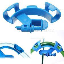 Bleu Clip Pince Support Tube Tuyau D'eau Air Fixation à Poisson Aquarium Citerne