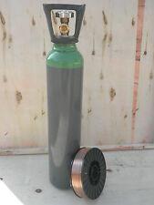 Bombola miscela  da 7 litri,   saldatura  mig mag e bobina 5 kg 0,8