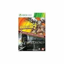 Borderlands 2 & Dishonored (2 Pack Bundle) XBOX 360, New & Sealed