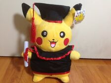 "Pokemon Pikachu Plush "" Graduation Plush""  12"" Nice Gift"