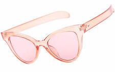 Cat Eye Style Glasses Sunglasses Classic Womens Tinted Lens UV400 Protection