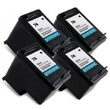 4 Pack HP 74 Ink Cartridge Black - OfficeJet J6415 J6424 J6450 J6480 J6488