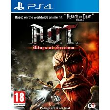 Attack On Titan (A.O.T) Wings Of Freedom PS4 Game Brand New