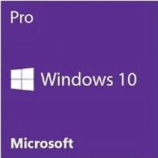 Microsoft Windows 10 Pro System Builder OEM DVD 32-bit Brand New