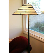 Floor Lamp - Tiffany Mission Stained Glass Light Home Decoration Leadlight