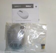 New Original Dell Black Wireless Mouse w/ Dongle No Batteries Wm311 3Yxn2