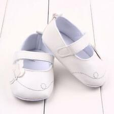 Infant Toddler Baby Girl Soft Sole Crib Shoes Prewalker Sneaker Newborn to 18 M