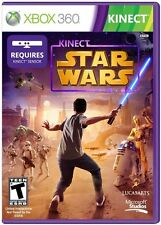 Kinect Star Wars [Xbox 360, Action Light Saber Adventure, Kinect Required] NEW