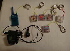 2001 Tiger Hit Clips 2 Micro Personal Players w/ 1 NSYNC & 4 Britney Spears
