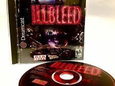 ILLBLEED Sega Dreamcast •Near Complete• Disc, Manual, Case, Ill Bleed