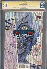 2010 CGC SS 9.8 I Zombie #1 CW TV Show Mike & Laura Allred First Print iZombie