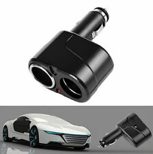 Car Socket Power Splitter Charger Lighter 2 Way Cigarette Adapter DC 12V