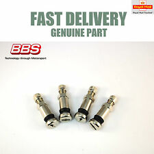 Genuine BBS Motorsport Stainless Steel Valves E50 E88 RS RM LM 36mm NEW