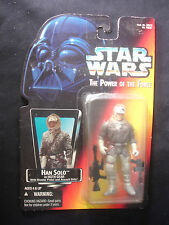 Star Wars Han Solo In Hoth Gear W/ Blaster Pistol & Assault Rifle Action Figure
