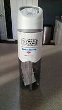 WATER BOTTLE 32 Oz  BPA  PVC  Phthalates Free.SPECIAL OLYMPICS WORLD GAMES NEW